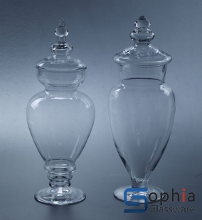Glass candy jar SYZ023--24