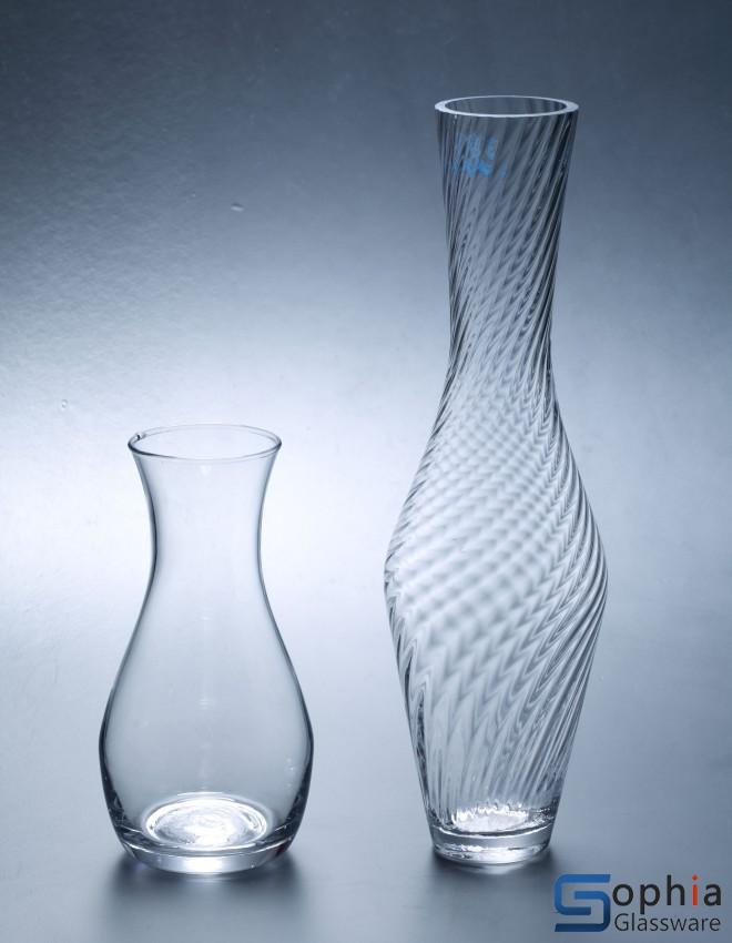 Single Flower Vase Syt046 048 Sophiaglassware Com Glass Vase Glassware Glasscandle Holder