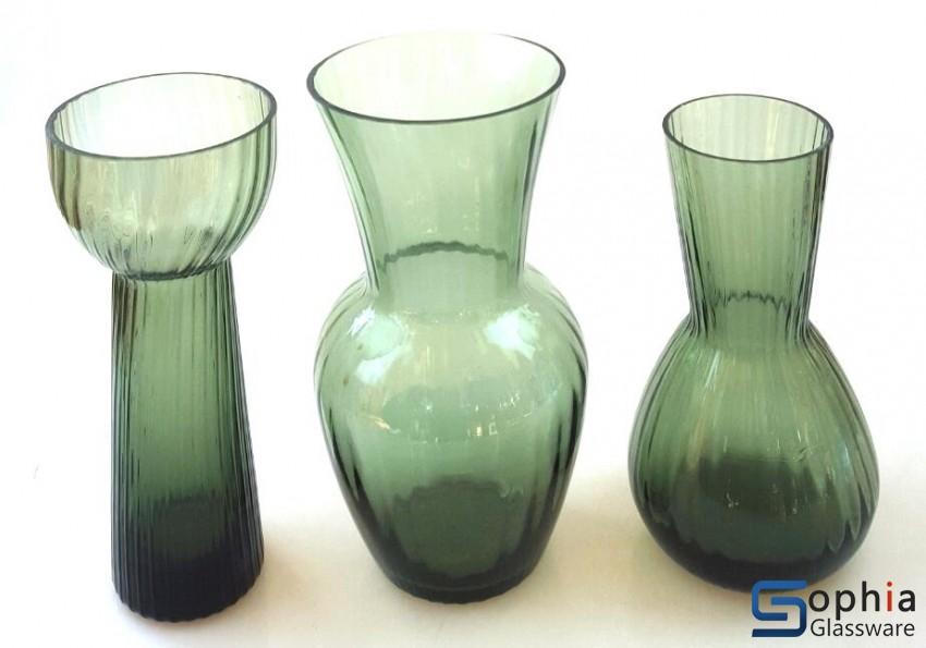 Solid Color Glass Vase Scs037038039 Sophiaglassware Glass